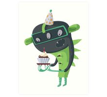 Happy birthday to me! Art Print
