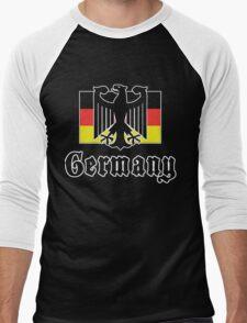 Germany Flag Men's Baseball ¾ T-Shirt