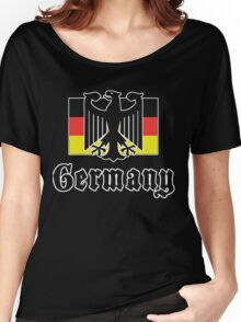 Germany Flag Women's Relaxed Fit T-Shirt