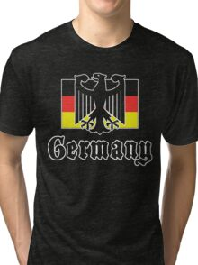 Germany Flag Tri-blend T-Shirt