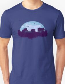 Twilight City Skyline  T-Shirt