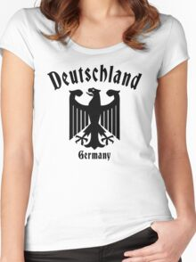 Deutschland Germany Women's Fitted Scoop T-Shirt