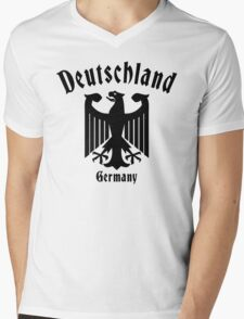 Deutschland Germany Mens V-Neck T-Shirt