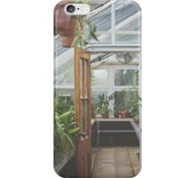 Through the Greenhouse iPhone Case/Skin