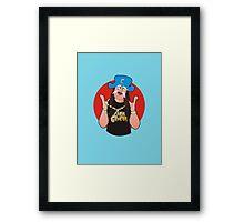 Cap'N CruNk Framed Print