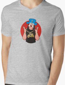 Cap'N CruNk Mens V-Neck T-Shirt