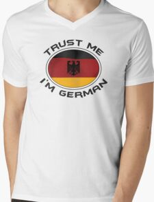 Trust Me I'm German Mens V-Neck T-Shirt