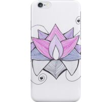 Lotus -  Be different iPhone Case/Skin