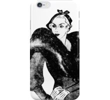 1930's tough broad iPhone Case/Skin