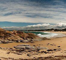 Beach and Rocks in South-east victoria by Prijinth Vijayakumar