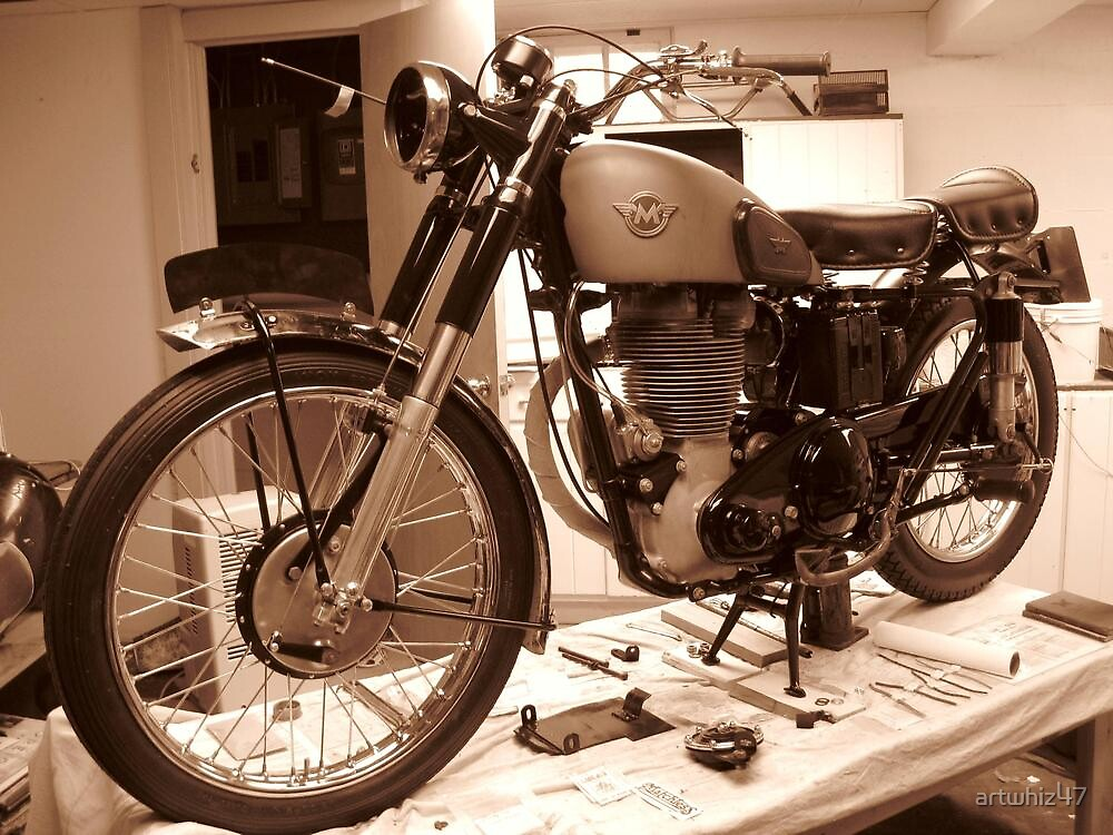 Matchless In Sepia by artwhiz47