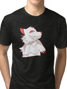Albino werewolf Tri-blend T-Shirt
