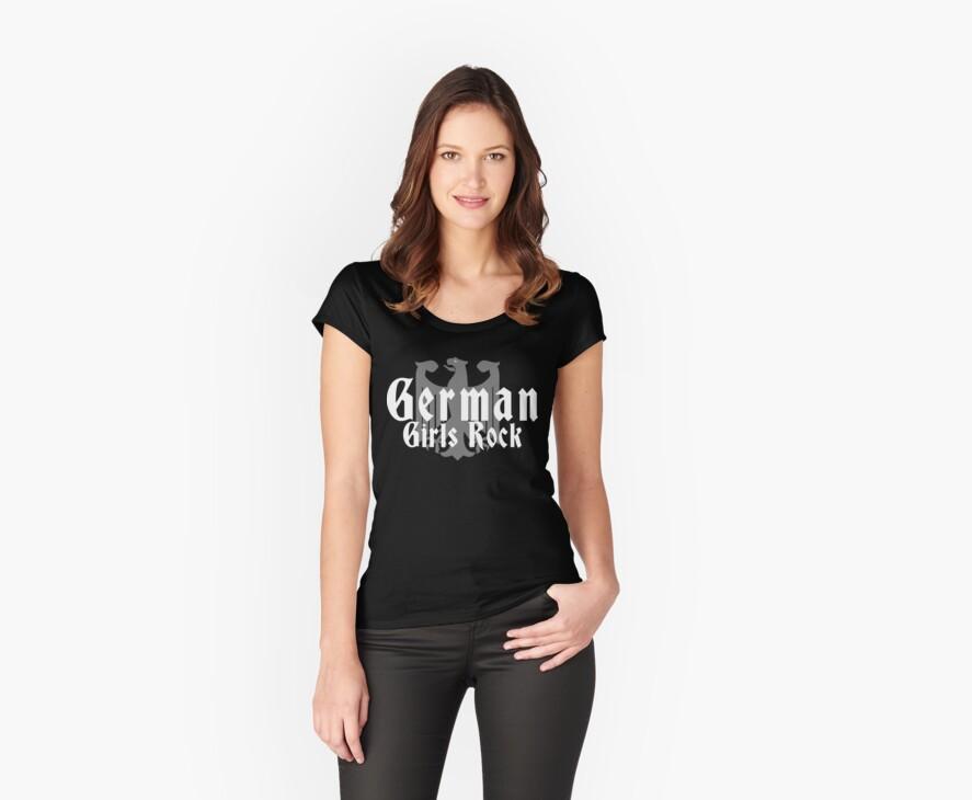 German Girls Rock T-Shirt by HolidayT-Shirts