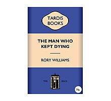 The Man Who Kept Dying Photographic Print