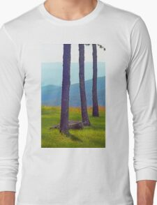 Blue Ridge Mountains - Virginia Long Sleeve T-Shirt