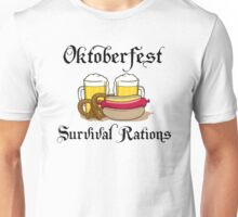 "Oktoberfest ""Survival Rations"" T-Shirt Unisex T-Shirt"