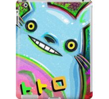 Psychadelic My Neighbor Totoro iPad Case/Skin