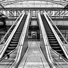 Escalators by Lea Valley Photographic