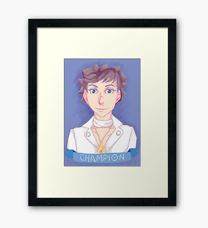 Kalos Champion Framed Print