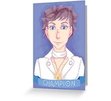 Kalos Champion Greeting Card