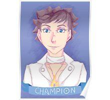 Kalos Champion Poster