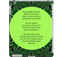 Multiply My Joys iPad Case/Skin
