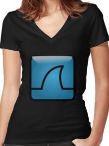 Wireshark Women's Fitted V-Neck T-Shirt