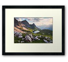 Rappensee Sunset Framed Print