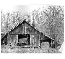 Rural Virginia Barn Poster