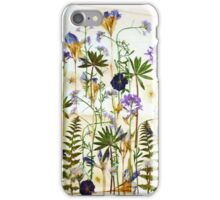 Floral garden party iPhone Case/Skin