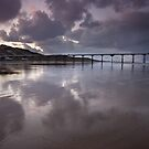 Winter Light over Saltburn Pier by Phillip Dove