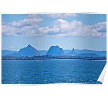 Glasshouse Mountains Poster