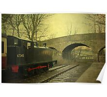 Steam Train To Nowhere ~ Hawes  ~ Poster