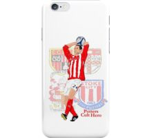 Rory Delap - Potters Cult Hero iPhone Case/Skin