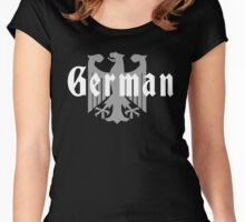 German Eagle T-Shirt Women's Fitted Scoop T-Shirt