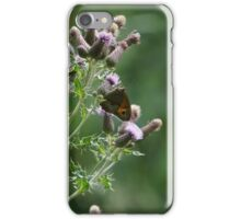 Butterfly in Silhoutte iPhone Case/Skin