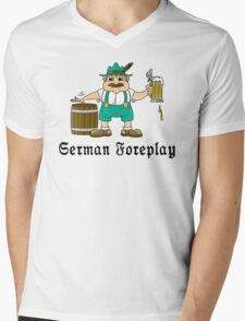 German Foreplay Mens V-Neck T-Shirt