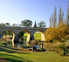 Richmond Bridge - Tasmania by Anthony Davey