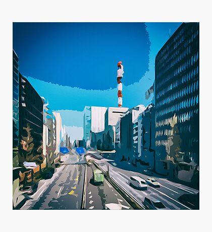 Tokyo City Streets Photographic Print