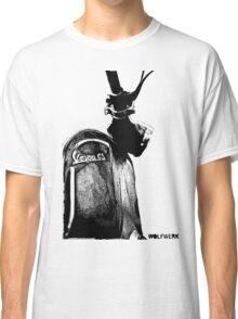 Piaggio Vespa GS front shield with logo black Classic T-Shirt