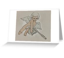 Cherub and Tommy Greeting Card