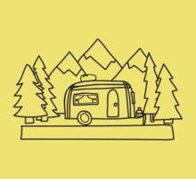 Airstream campers Kids Tee