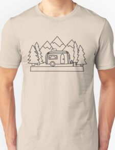 Airstream campers Unisex T-Shirt