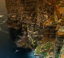 Marwick Head, Orkney, Scotland by Gabor Pozsgai