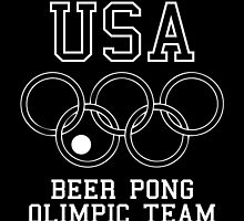 USA Beer Pong Olimpic Team by maniacreations