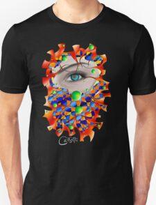 Abstract digital art - Delaneo V3 T-Shirt