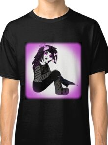 Little Purple Goth Girl Classic T-Shirt