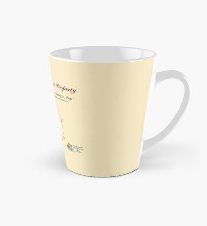 Golden Geometry Tall Mug