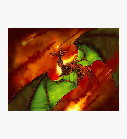 Dragon Rage Photographic Print