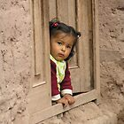 Sacred Valley little girl by Nupur Nag